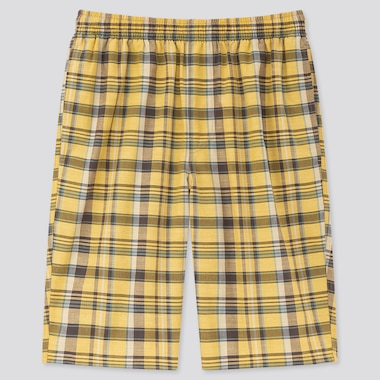 Men Light Cotton Easy Shorts (Online Exclusive), Yellow, Medium