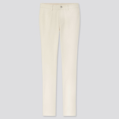 "Women Ultra Stretch Leggings Pants (Tall 32"") (Online Exclusive), Off White, Medium"
