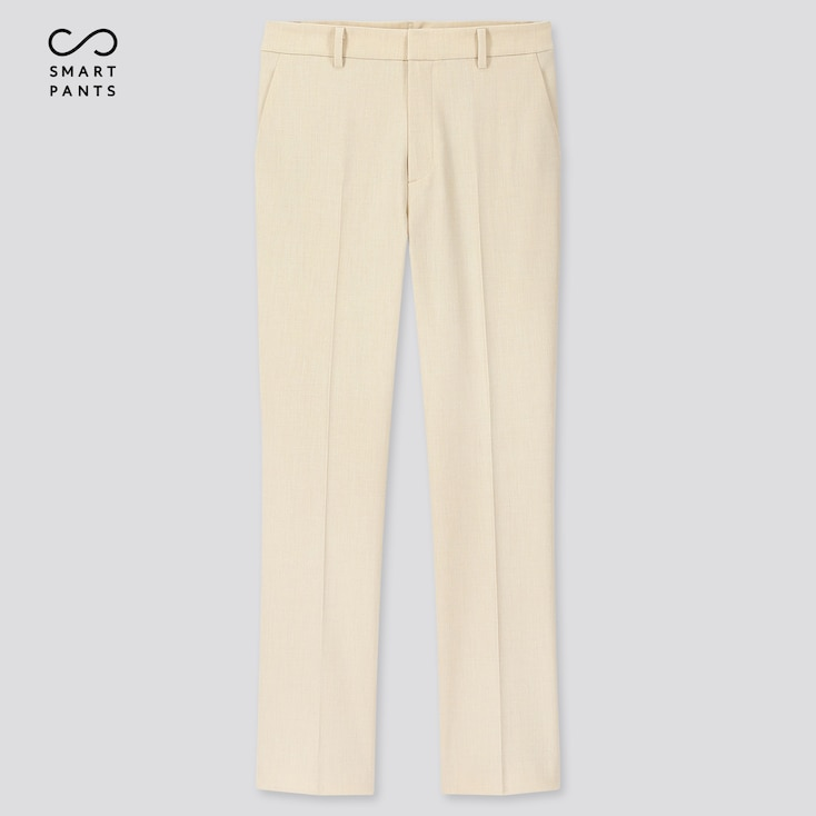 "Women Ezy 2-Way Stretch Ankle-Length Pants (Tall 29"") (Online Exclusive), Off White, Large"