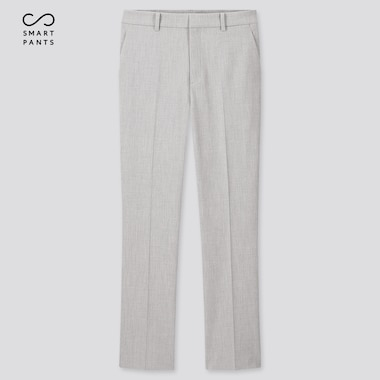 "Women Ezy 2-Way Stretch Ankle-Length Pants (Tall 29"") (Online Exclusive), Light Gray, Medium"
