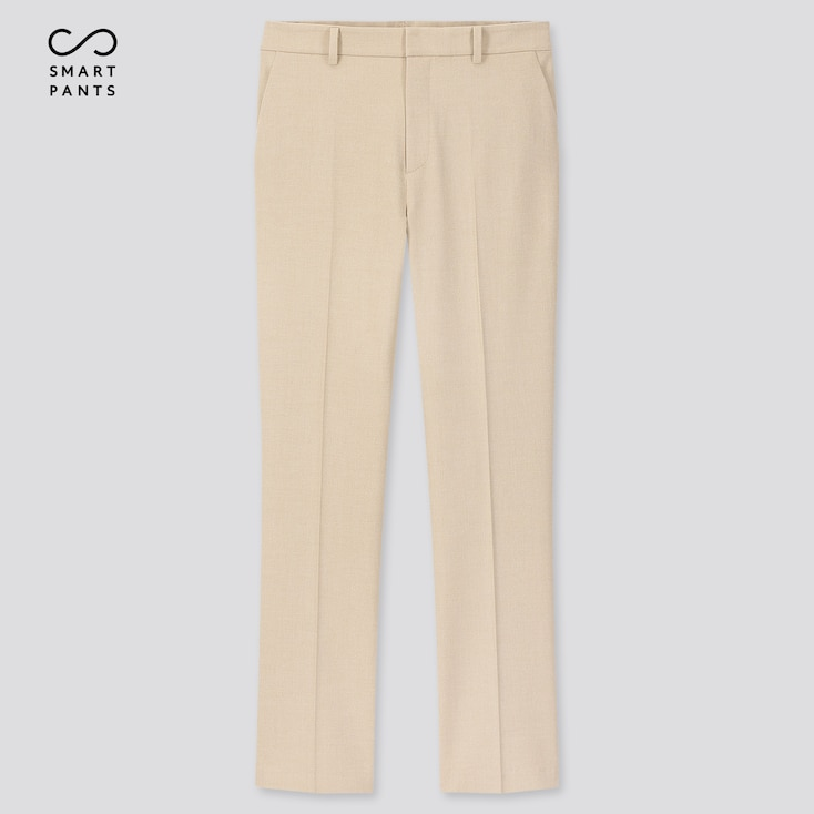 "Women Ezy 2-Way Stretch Ankle-Length Pants (Tall 29"") (Online Exclusive), Beige, Large"