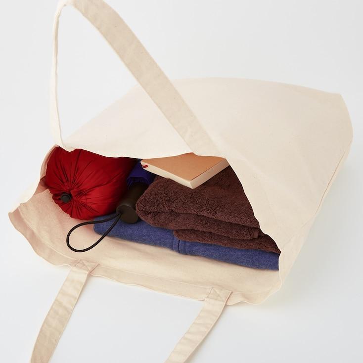 Medium Eco-Friendly Tote Bag, Off White, Large