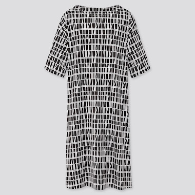 Women Finlayson UT Graphic Half Sleeved T-Shirt Dress