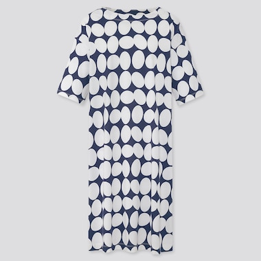 Women Finlayson Half-Sleeve T Dress, Navy, Medium