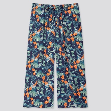 PANTALON Joy of Print COUPE 3/4 Relaco Large Femme