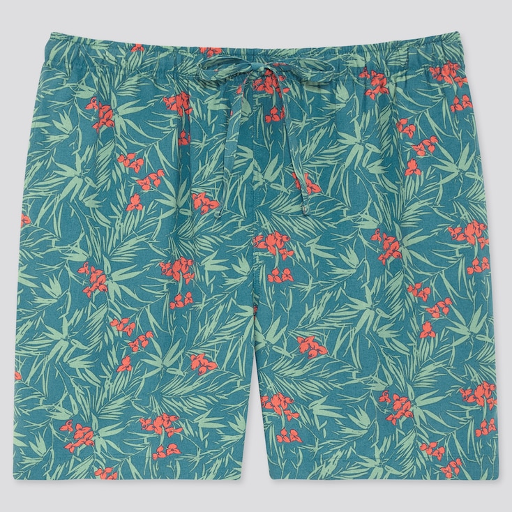 Women Joy Of Print Relaco Shorts, Green, Large