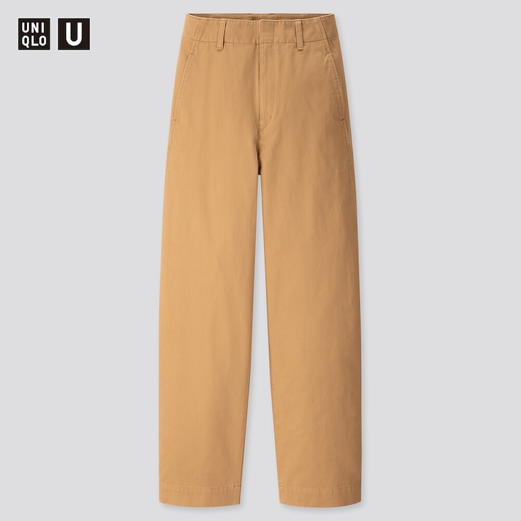 pantalon femme uniqlo