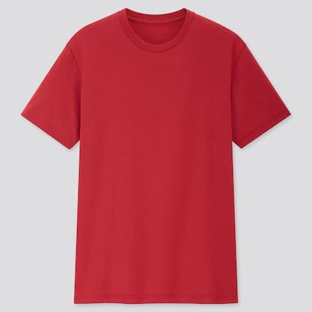 Men DRY Colour Crew Neck Short Sleeved T-Shirt
