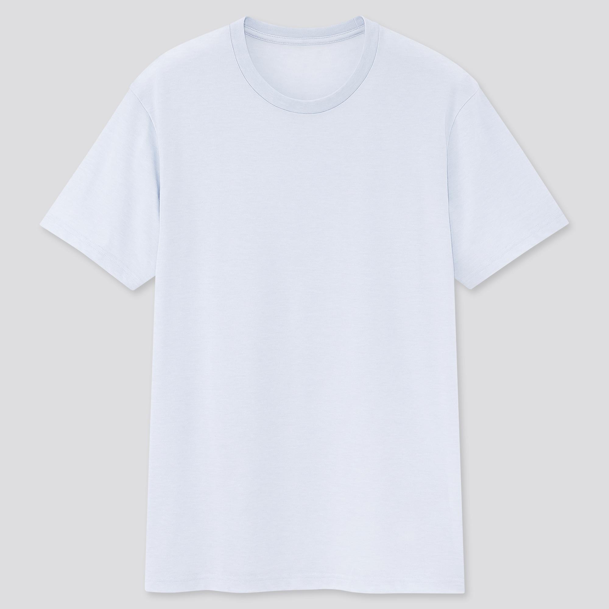 Uniqlo men dry crew neck short-sleeve color t-shirt