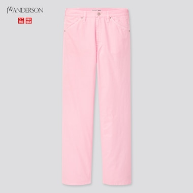 Women Work Pants (Jw Anderson), Pink, Medium
