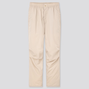 Women Minnie Ambush Relaxed Ankle Pants, Natural, Medium