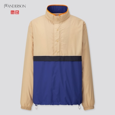 Men Pocketable Pull Over Blouson (Jw Anderson), Beige, Medium