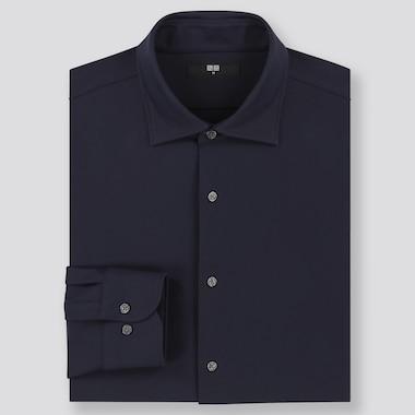 Herren Easy Care Komfort Hemd mit New-Kent-Kragen (Regular Fit)
