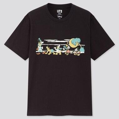 Men Mickey Aloha UT Graphic T-Shirt