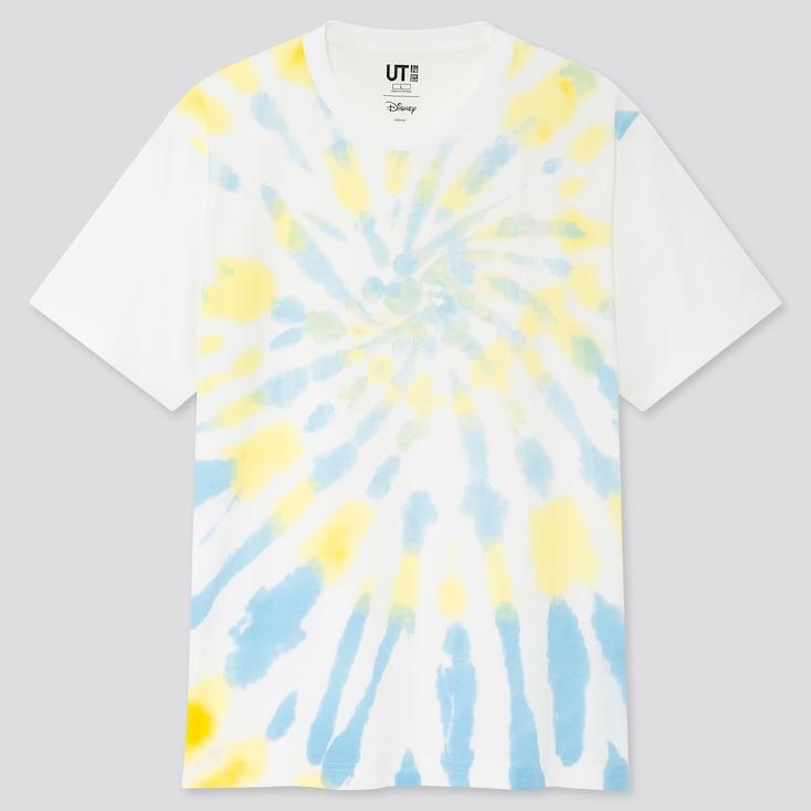 Mickey Aloha Ut (Short-Sleeve Graphic T-Shirt), White, Large