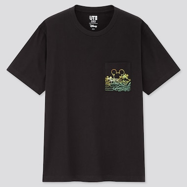 Men Mickey Aloha UT Graphic T-Shirt