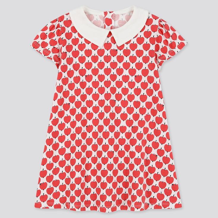 Toddler Finlayson Short-Sleeve Dress, Red, Large