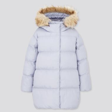Girls Warm Padded Hooded Coat