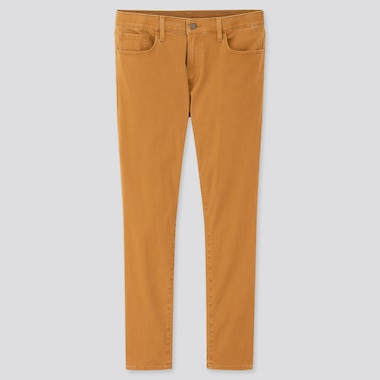 "Men Ezy Ultra Stretch Color Jeans (Tall 33.5"") (Online Exclusive), Yellow, Medium"