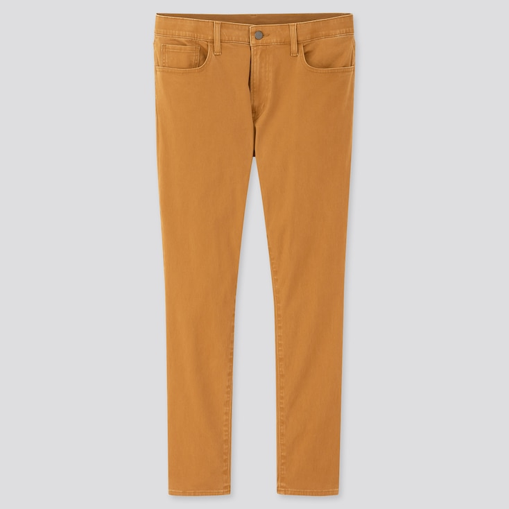 Men Ezy Ultra Stretch Color Jeans (Tall) (Online Exclusive), Yellow, Large