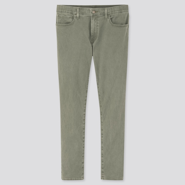"Men Ezy Ultra Stretch Color Jeans (Tall 33.5"") (Online Exclusive), Olive, Large"