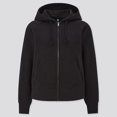 Women Sweat Long Sleeved Full-Zip Hoodie