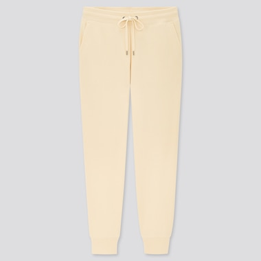 Women Sweatpants, Off White, Medium