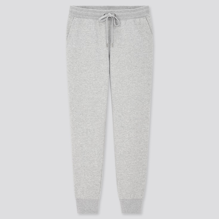 Women Sweatpants, Gray, Large