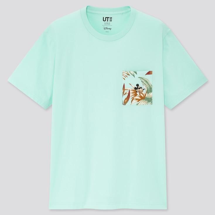 Mickey Aloha Ut (Short-Sleeve Graphic T-Shirt), Green, Large