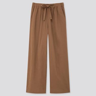 Women Cotton Linen Relaxed Trousers