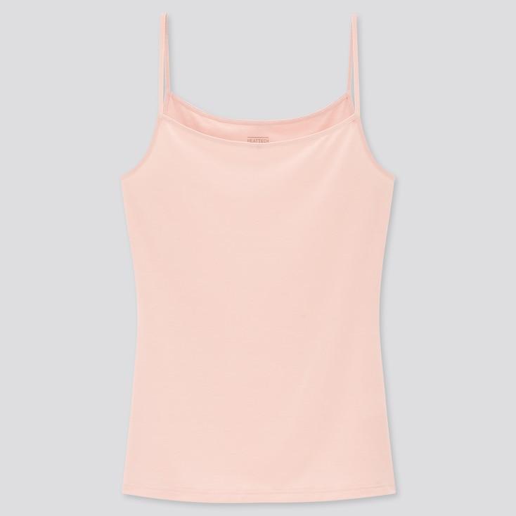 Women Heattech Camisole, Pink, Large