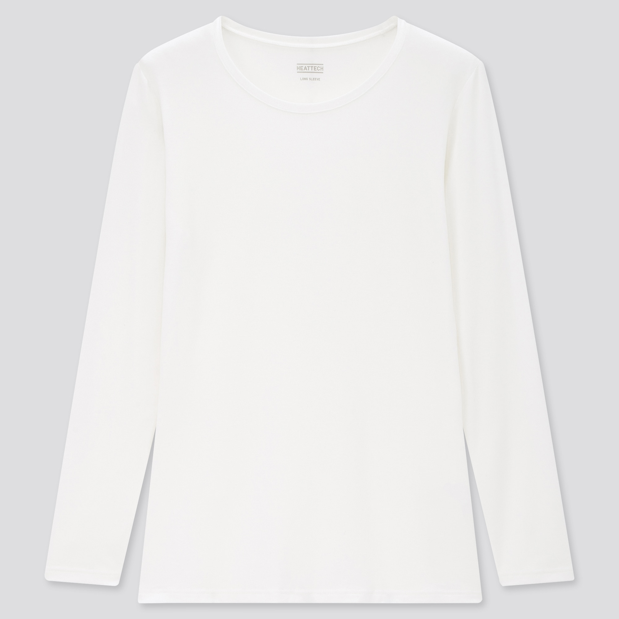 women HEATTECH crew neck long-sleeve t-shirt