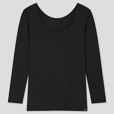 Women HEATTECH Extra Warm Scoop Neck Thermal Top