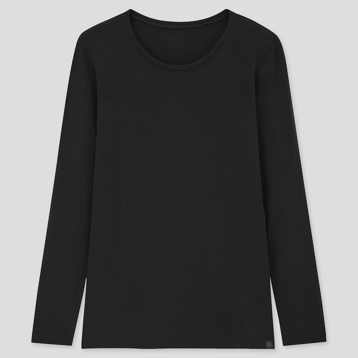 women HEATTECH extra warm crew neck t-shirt