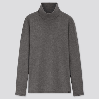 T-Shirt Termica HEATTECH Ultra Caldo Collo Alto Maniche Lunghe Donna