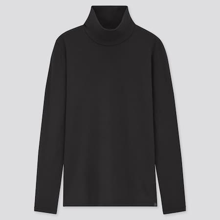 Damen HEATTECH Ultra Warm Langarmshirt mit Stehkragen (Thermounterwäsche)