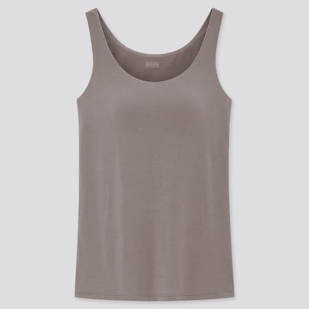 Women HEATTECH Jersey Sleeveless Thermal Bratop