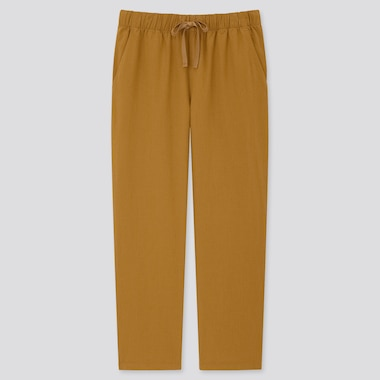 Women Relaxed Fit Ankle Length Trousers