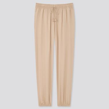 Pantalon Casual Satiné Femme