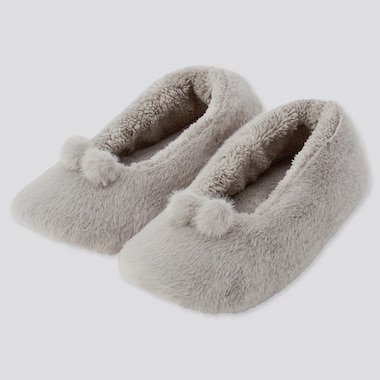 Women Fluffy Ballet Slippers
