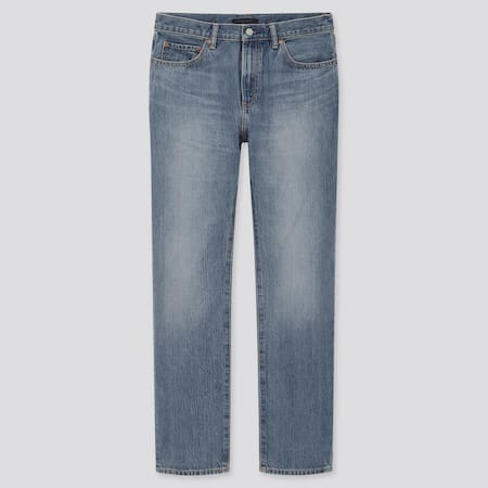 Men Regular Fit Straight Leg Jeans