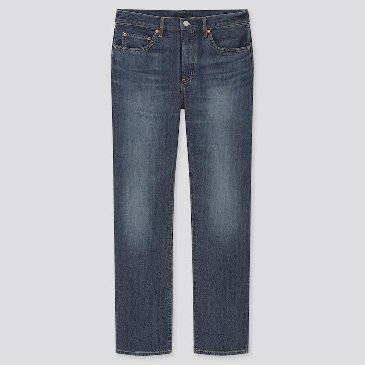 Men Regular-Fit Straight Jeans (Online Exclusive), Blue, Large