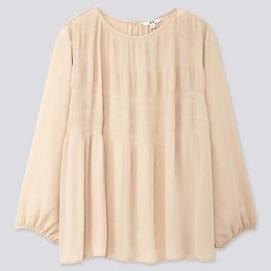 Women Georgette Long Sleeved Blouse