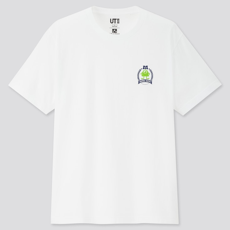 Team Pixar Ut (Short-Sleeve Graphic T-Shirt), White, Large