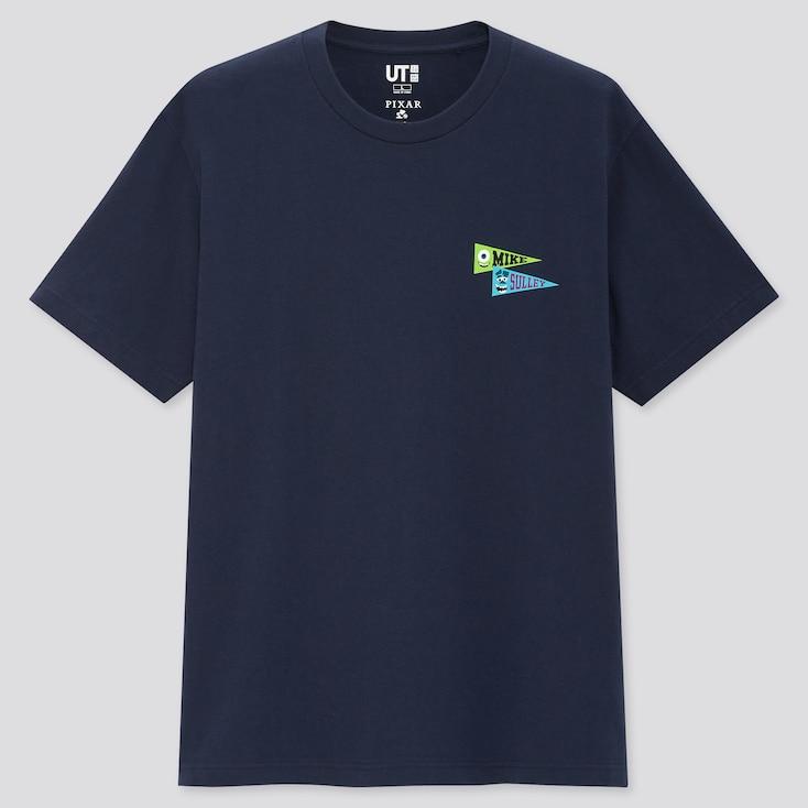 Team Pixar Ut (Short-Sleeve Graphic T-Shirt), Navy, Large