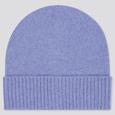 100% Cashmere Knitted Beanie