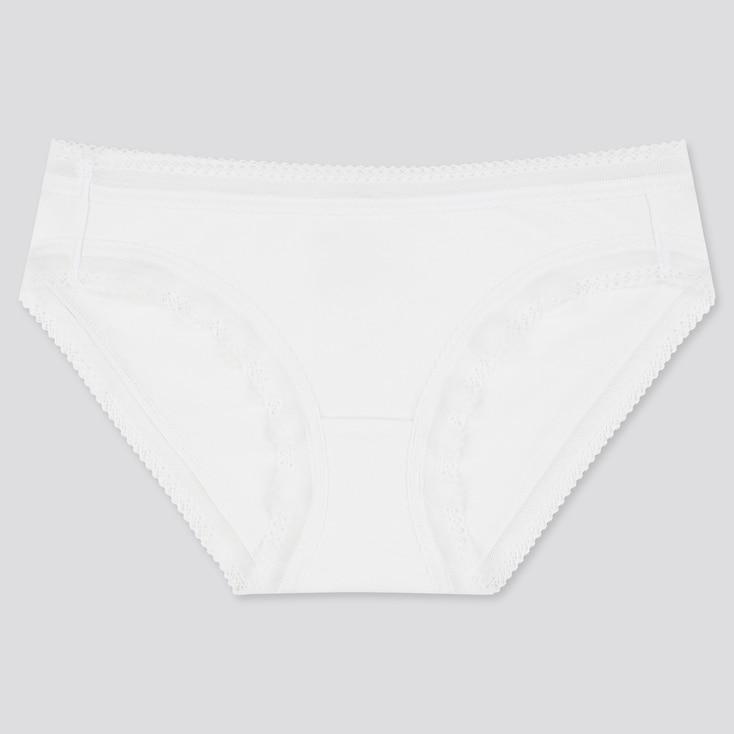 Women Bikini, White, Large