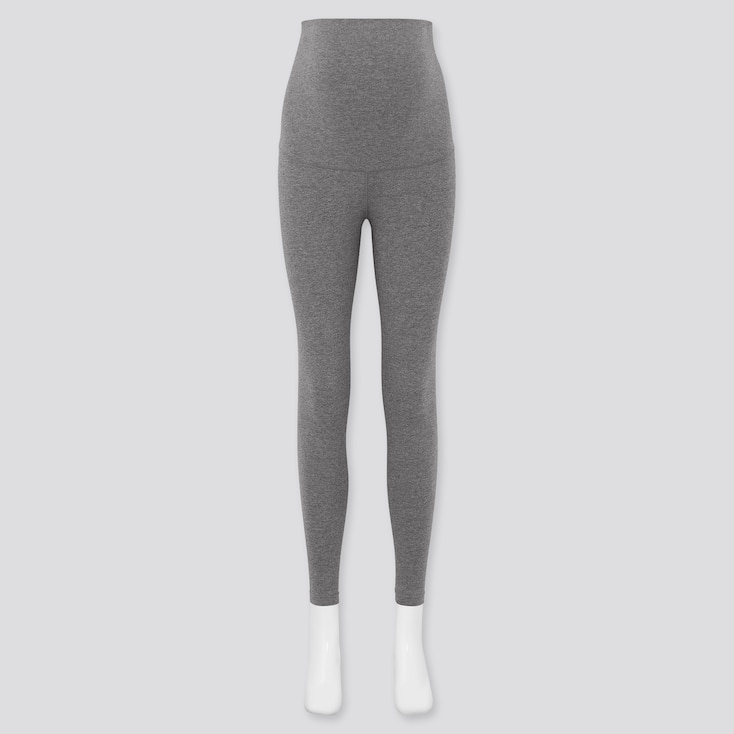 Women Maternity Leggings (Online Exclusive), Dark Gray, Large
