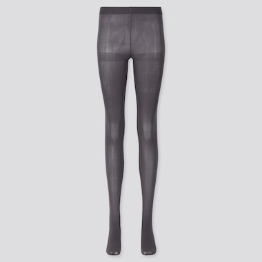 Women Heattech Tights (Online Exclusive), Dark Gray, Medium