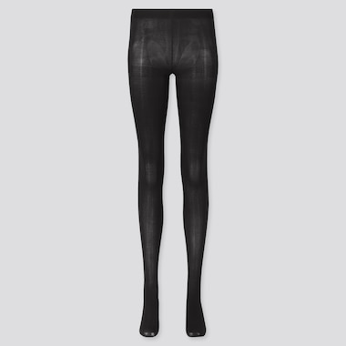 Women Heattech Tights (Online Exclusive), Black, Medium